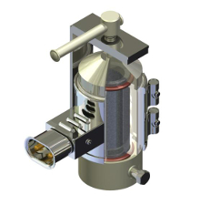 Фильтр металлокерамический, обогреваемый