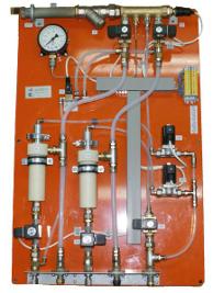 Панель пробоотбора для отбора пробы для анализа общего колошникового газа